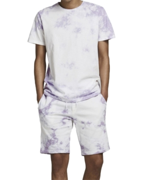 Men's Tie Dye Drawstring Shorts