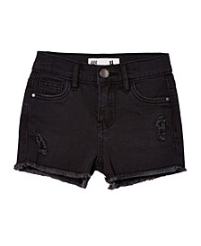 Toddler Girls Cleo Raw Edge Denim Shorts