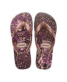 Women's Top Animals Flip Flop Sandals