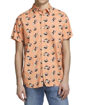Men's Foodie Print Shirt