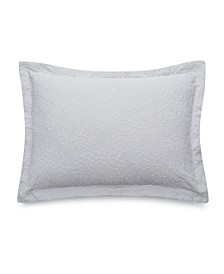 Floral Matelasse 100% Cotton King Sham, Created for Macy's