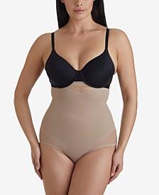 Women's  Extra Firm Tummy-Control Sheer Trim High Waist Brief 2785