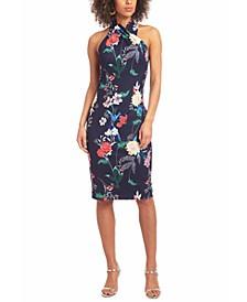 Printed Harland Sheath Dress