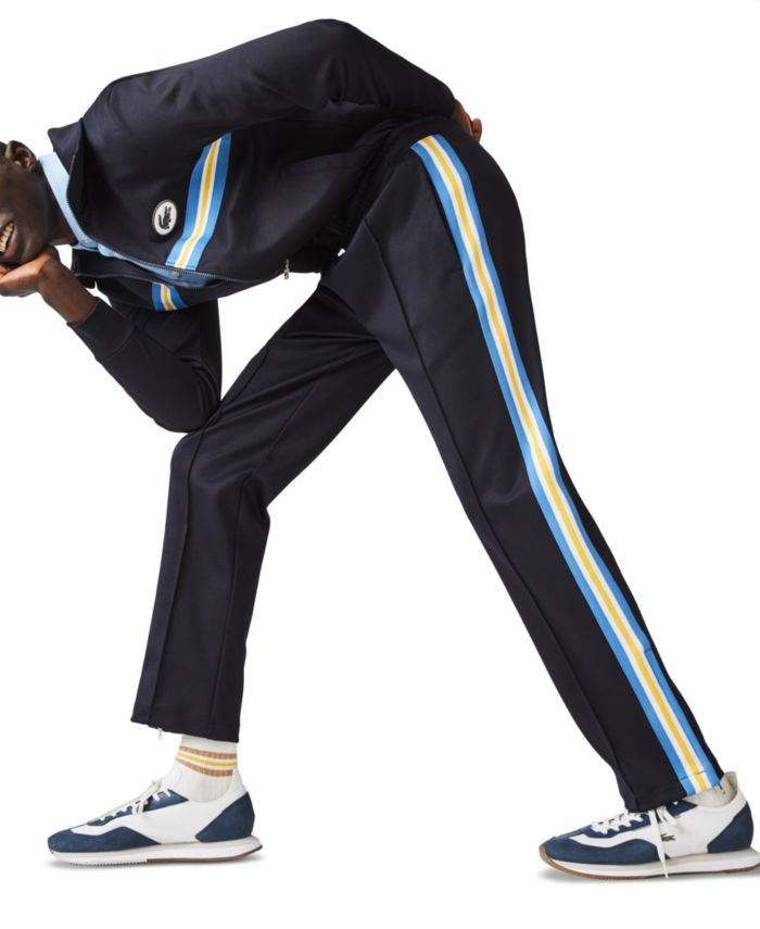 Lacoste Men's Side Stripe Track Pants & Reviews - Pants - Men - Macy's
