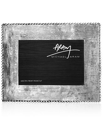 Michael Aram Molten Frost 5 X 7 Picture Frame Picture Frames