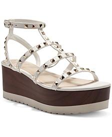 Women's Pemolie Gladiator Lug Wedge Sandals