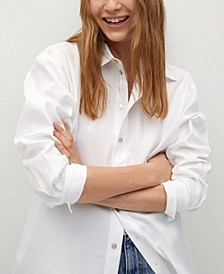 Women's Buttoned Cotton Shirt