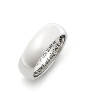 Men's Stainless Steel Bereavement Prayer Ring