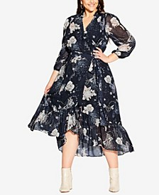 Plus Size Divinity Maxi Dress