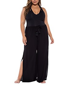 Trendy Plus Size Modern Muse Cover-Up Pants