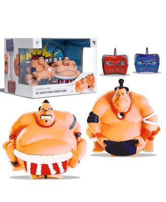 Sharper Image Rc Sumo King Wrestling Toy