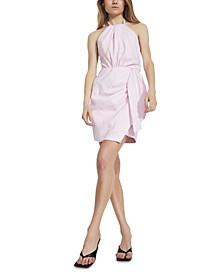Goddess Halter Shift Dress