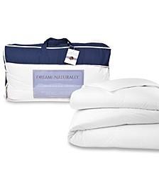USA Origin Down Extra Warmth Sateen Comforter, Oversized King