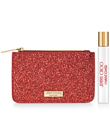 Receive a Free 2-Pc. gift with any large spray purchase from the Jimmy Choo I Want Choo fragrance collection