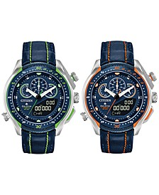 Eco-Drive Men's Analog-Digital Chronograph Promaster SST Watch Collection