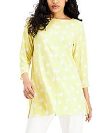 3/4-Sleeve Tunic, Created for Macy's