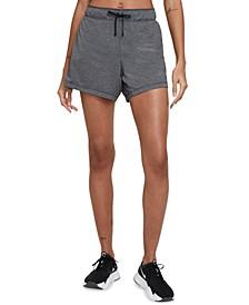 Foldover-Waistband Shorts
