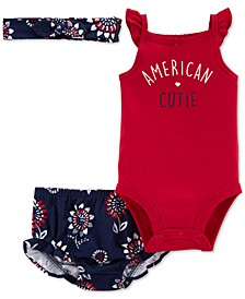 Baby Girls 2-Piece 4th of July Outfit