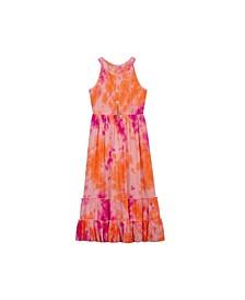Big Girls Tie Dye Maxi Dress