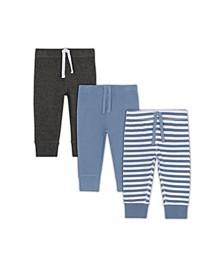 Baby Boys 4 Pack Blue Pant