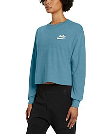 Women's Gym Vintage Sweatshirt