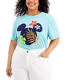 Plus Trendy Minnie Mouse Graphic T-Shirt