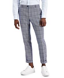 Men's Slim-Fit Carter Cuffed Hem Pants, Created for Macy's