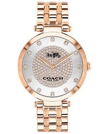 Women's Park Rose Gold-Tone Bracelet Watch 38mm