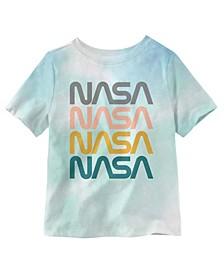 NASA Repeat Toddler Boys Short Sleeve T-shirt