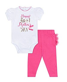 Baby Girls Mother's Day, 2 Piece Set