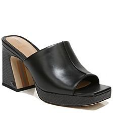 Women's Wilton Square-Toe Platform Sandals