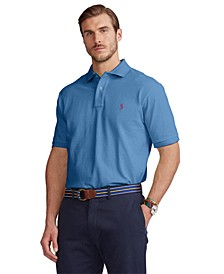 Men's Big & Tall Mesh Polo Shirt