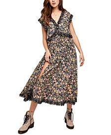 Milania Cotton Midi Dress