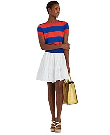 A-Line Tiered Skirt