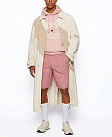 BOSS x Russell Athletic Men's Coated-Cotton Coat