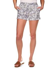 Arabesque Paisley Shorts