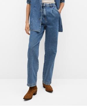 Mango Jeans HIGH WAIST DARTS JEANS