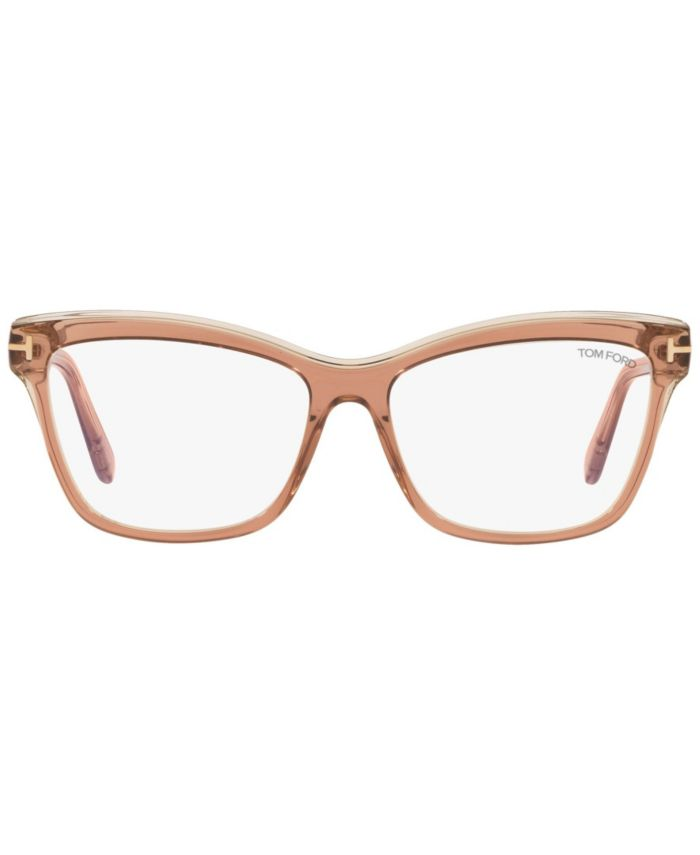 Tom Ford TR001091 Unisex Square Eyeglasses & Reviews - Home - Macy's