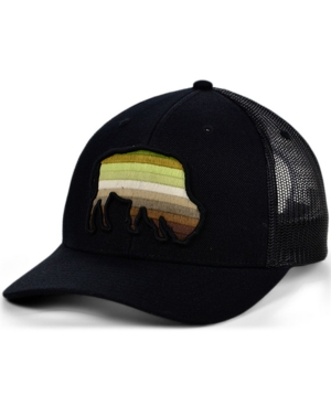 Local Crowns Buffalo Animal Collection Curved Trucker Cap