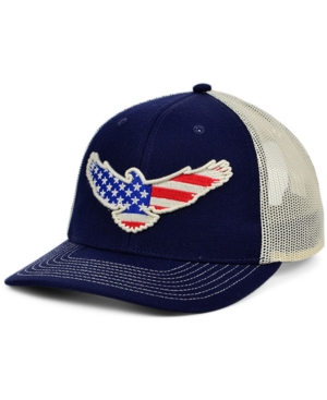 Local Crowns Eagle Animal Collection Curved Trucker Cap