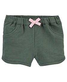 Baby Girls Pull-On Shorts