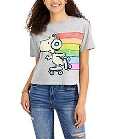 Juniors' Snoopy T-Shirt