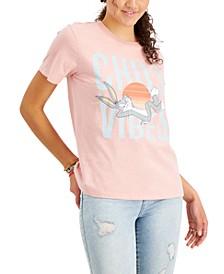 Juniors' Chill Vibes Graphic T-Shirt
