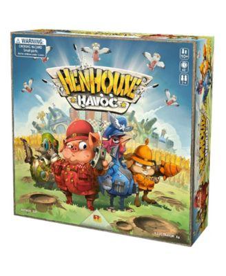Henhouse Havoc Family Board Game