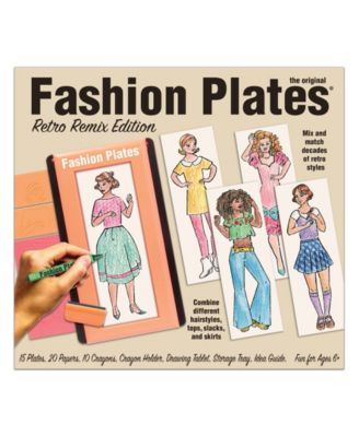 The Original Fashion Plates Retro Remix Edition Drawing Set