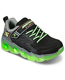 Little Boys S Lights Mega Surge Stay-Put Closure Light-Up Athletic Sneakers from Finish Line