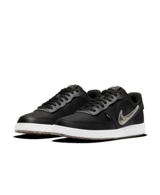 Men's Court Vision Low Premium Casual Sneakers from Finish Line