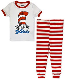 Toddler Cat In The Hat Family Pajama Set