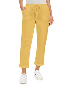 Pull On Cuffed Utility Pants, Created for Macy's