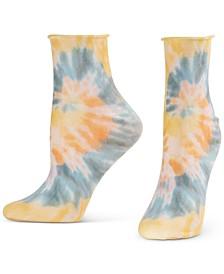 Women's Tie-Dye-Print Socks